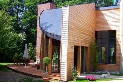 Agrandissement bois contemporain VAUTIER
