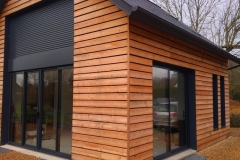 Bardage extension bois