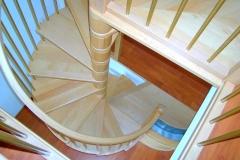 Escalier intérieur menuiserie Vautier